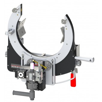 AXXAIR Orbitálna zváračka s otvorenou hlavou na Ø 38-220 mm SATO-220E51
