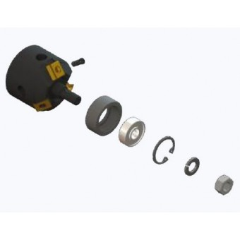 """AXXAIR Úkosovacia hlava, tvar úkosu """"V"""" - 37,5°"""