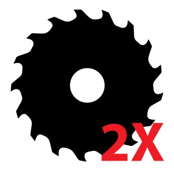 EXACT 2x Pílový kotúč zadarmo k píle