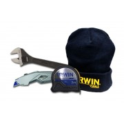 Darček k objednávke - IRWIN Meter XP 3m 10507796 + IRWIN Univerzálny vysúvací nôž 10508105 + IRWIN Celokovový nastaviteľný kľúč 10508161 + zimná čiapka IRWIN spolu v hodnote 55,-€ ZADARMO