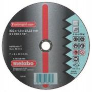 METABO Kotúč Flexiarapid INOX 125x1,0x22,2mm