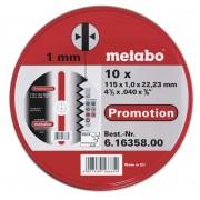 METABO Rezný kotúč Promotion 115x1x22,23mm