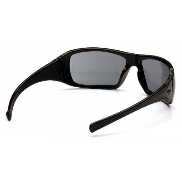 53b8aa493 Slnečné okuliare Goliath, čierny rám, šedé sklá