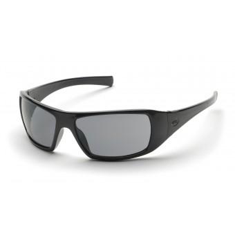 Slnečné okuliare Goliath, čierny rám, šedé sklá