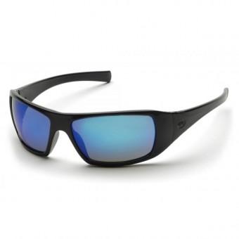 Slnečné okuliare Goliath, čierny rám, modré sklá