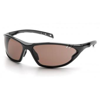 Slnečné okuliare PMXCITE, čierny rám, bronzové sklá