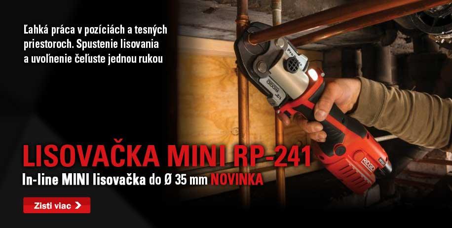 ridgid mini lisovacka rp 241