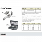 RIDGID rezák elektrických vodičov ACSR model 87 (PCS-1)