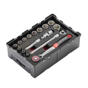 ROTHENBERGER 17-dielna sada 6-hranných nástrčných kľúčov