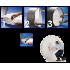 """TAG E-Z Papierové potrubné zátky od 2"""" do 72"""" (51mm až 1829mm)"""