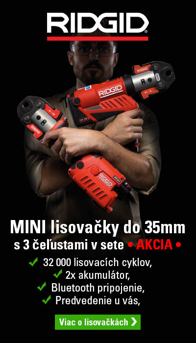 Lisovačka RIDGID do 35mm