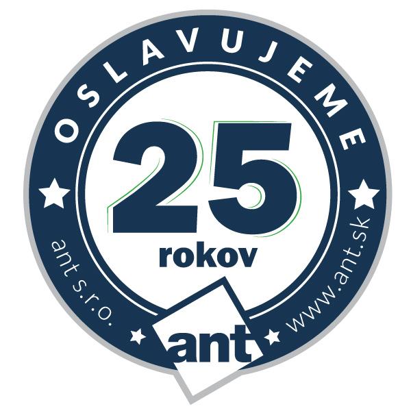 oslavujeme 25 rokov ant