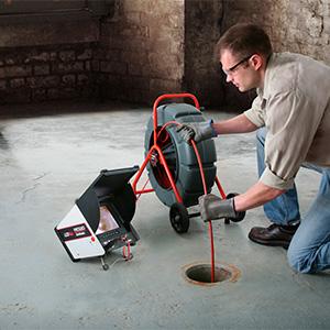 Rohrleitungsinspektionskameras und -monitore