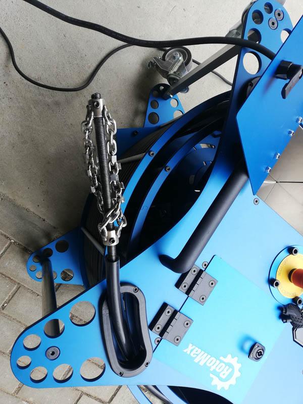 Boldan Rotomax omielač potrubí