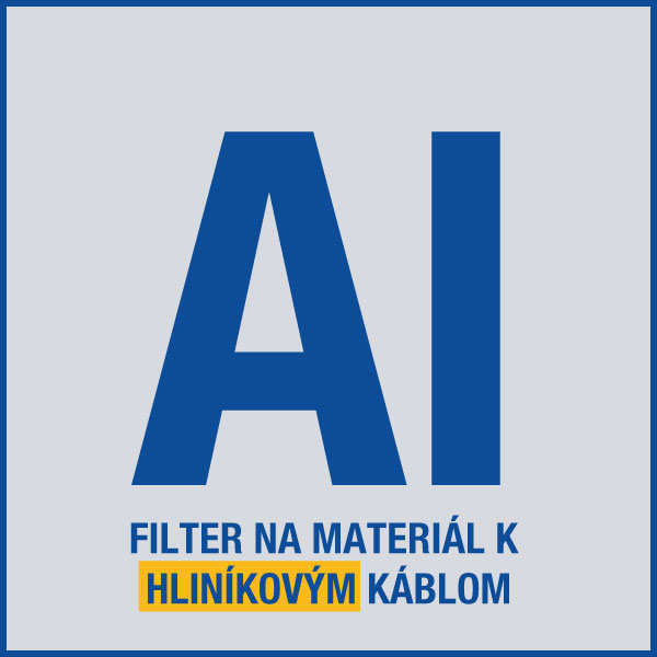 elektroinštalačný materiál na hliníkové káble