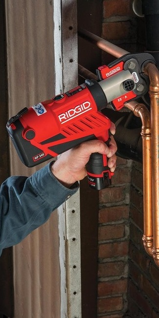 RIDGID uvádza úplne nový rad ergonomických a ľahkých lisovačiek - Predstavujeme RP 240 a RP 241