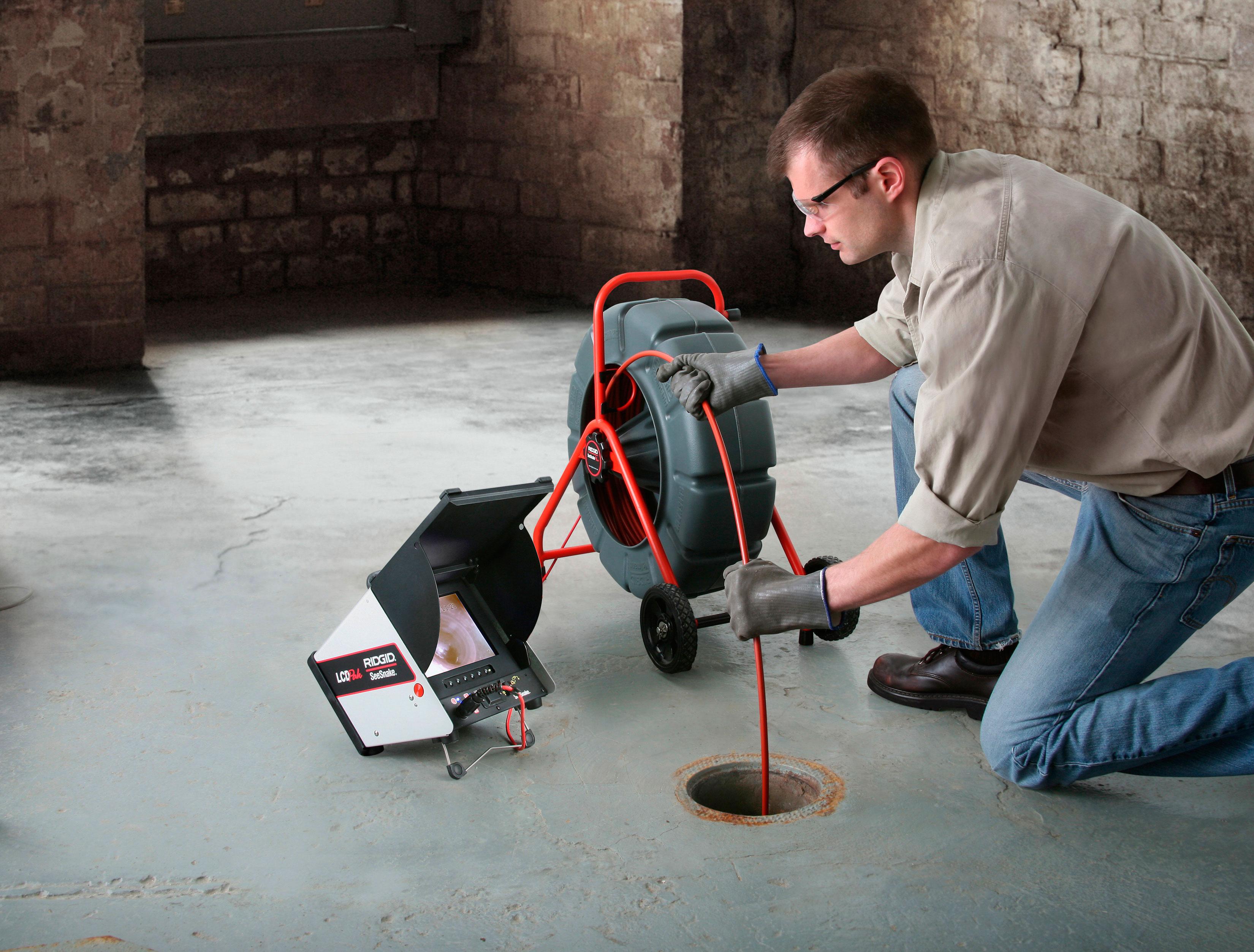 inšpekční kamera RIDGID