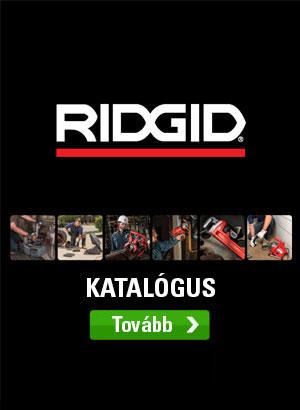 Katalógus RIDGID