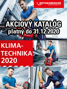 Rothenberger akcia klimatechnika 2020