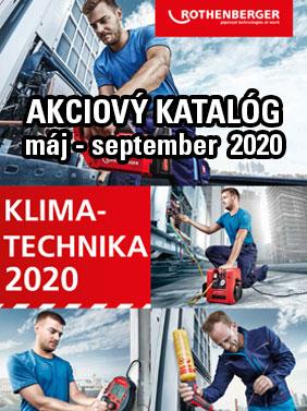 Rothenberger klimatechnika akcia 2020
