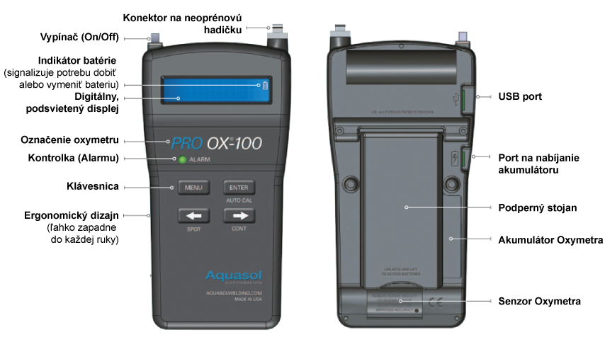 Oxymeter PRO OX-100