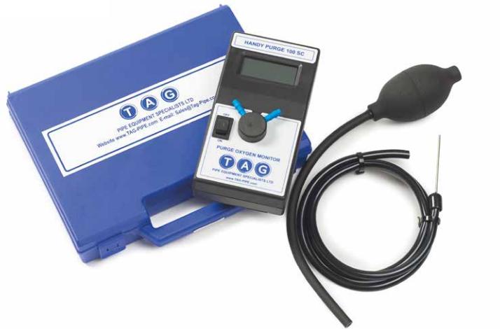 TAG csőürítés jelzők és oximéterek