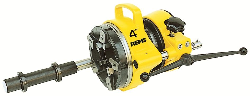 """REMS 4"""" automatická závitorezná hlava; R 2½, 3, 4"""