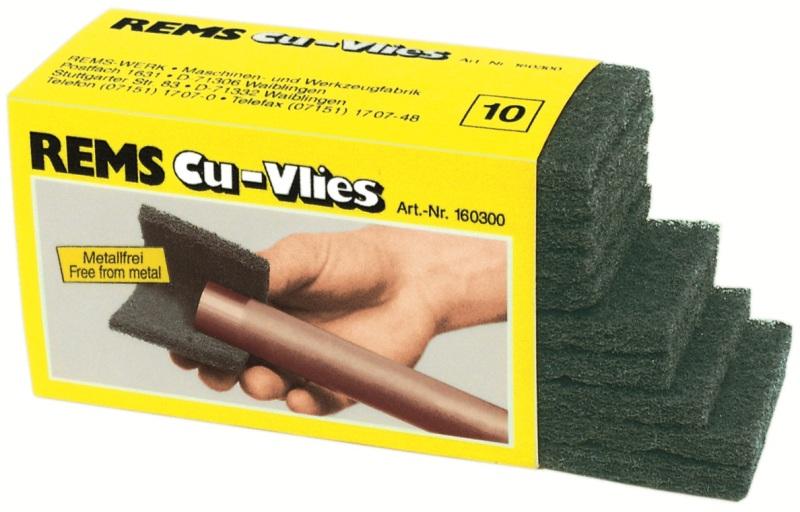 REMS Cu-Vlies čistiaca žinka pred pájkovaním