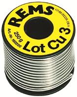 REMS Lot Cu 3 mäkká pájka