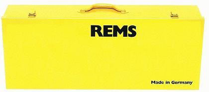 REMS plechový kufor s vložkou pre Eco-Press a 3 ks lisovacích čeľustí