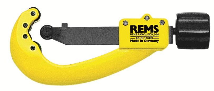 REMS RAS Cu-INOX 6-64, s ≤4 mm rezač rúr