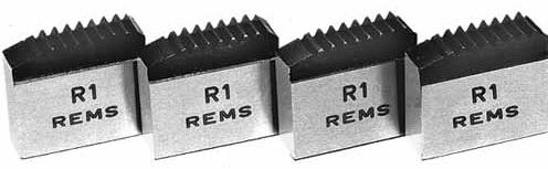 REMS rýchlovymeniteľná závitorezná čeľuste M 50 x 1,5